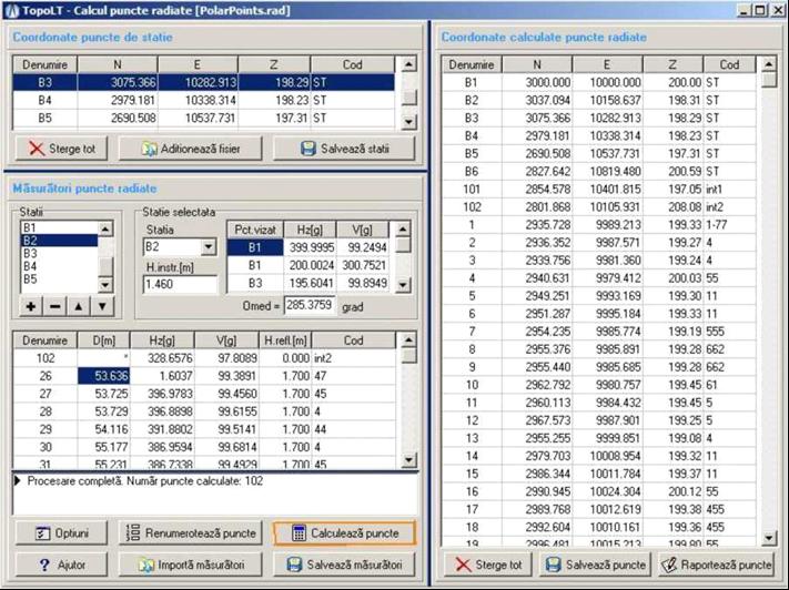 calcul-puncte-radiate-topolt-cadware-engineering